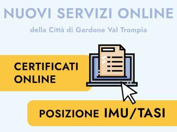 Nuovi servizi on-line del Comune di Gardone Val Trompia