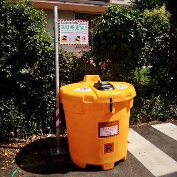 Sostituzione raccoglitori olio vegetale - aggiornamento punti di raccolta