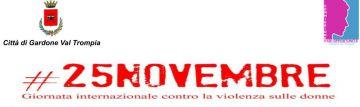 # 25 NOVEMBRE Giornata internazionale contro la violenza sulle donne